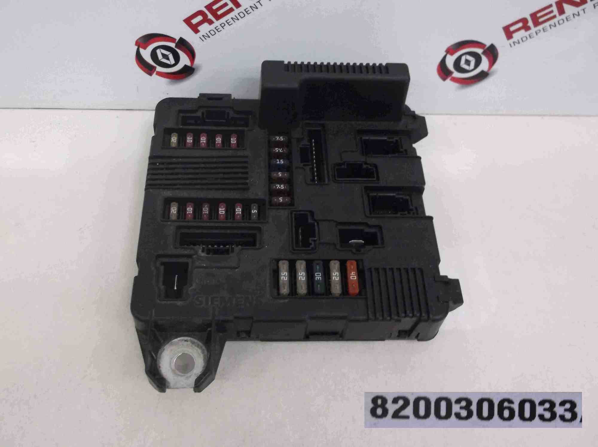 hight resolution of renault megane scenic 2002 2006 engine bay fuse box upc 8200306033 renault megane fuse box in engine bay