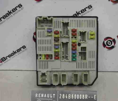 small resolution of renault megane mk3 2008 2014 engine fuse box upc computer 284b60008r
