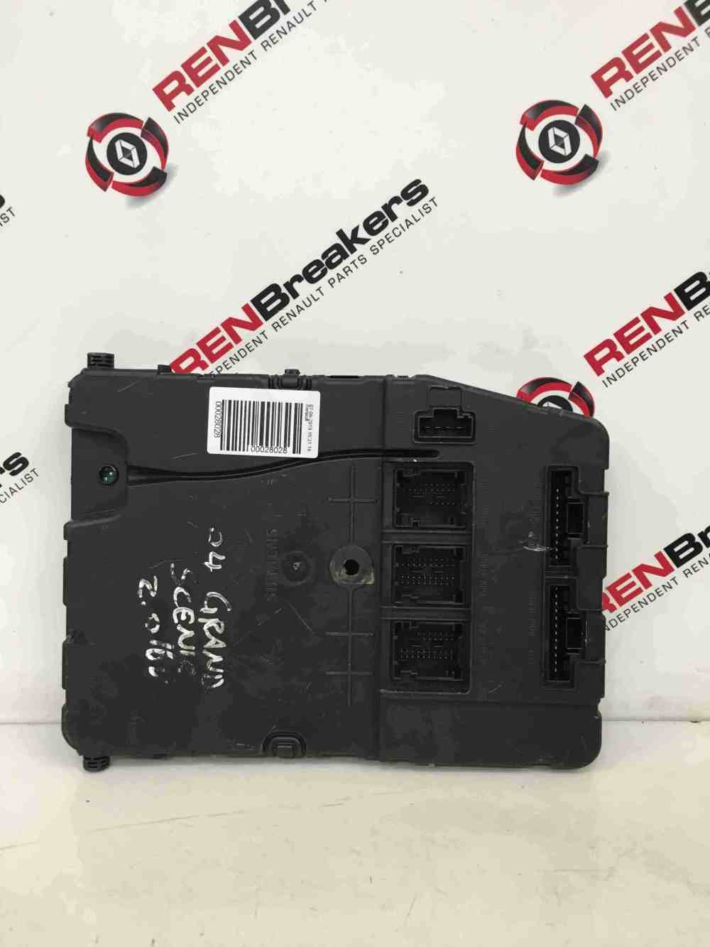 medium resolution of renault megane scenic 2003 2009 2 0 immobiliser uch bcm fuse box 8200351186 store renault breakers used renault car parts spares specialist