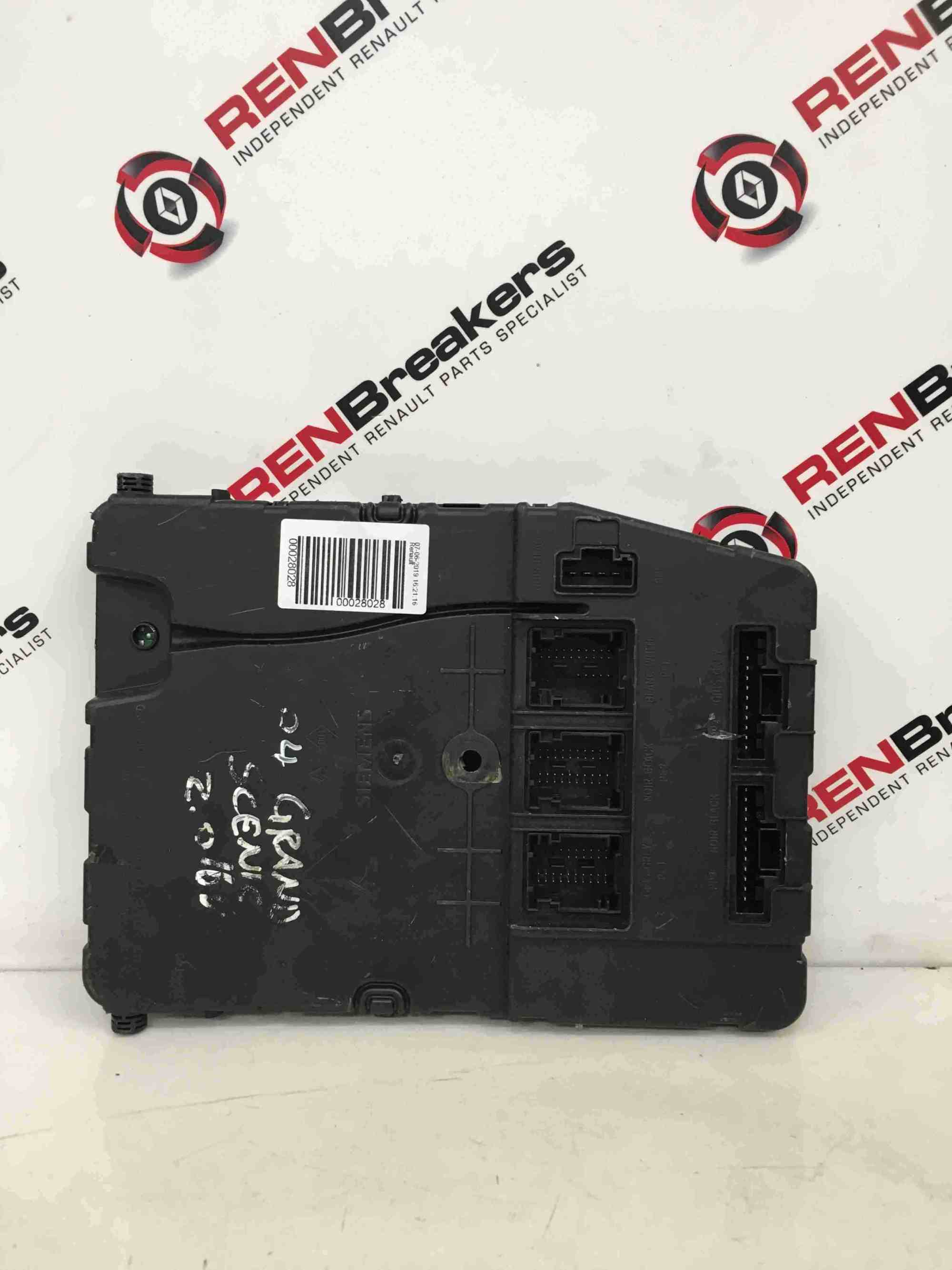 hight resolution of renault megane scenic 2003 2009 2 0 immobiliser uch bcm fuse box 8200351186 store renault breakers used renault car parts spares specialist