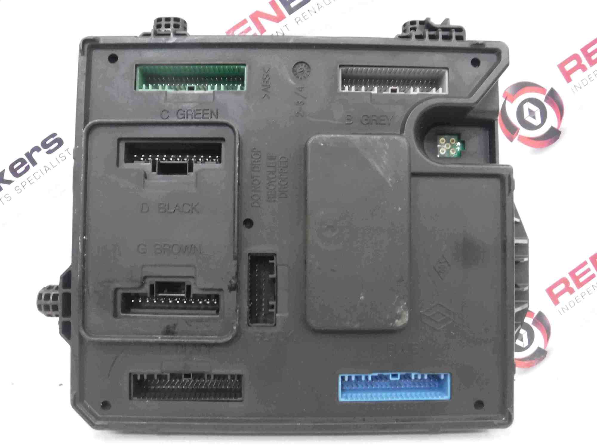 hight resolution of details about renault scenic mk3 2009 2016 1 5 dci engine fuse box uch bcm 284b12041r
