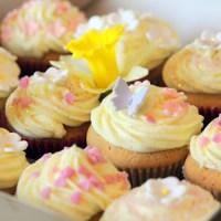 Lemony Spring Cupcakes