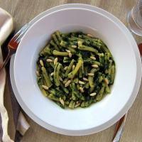 """Pressure Cooking: Pasta with Spinach """"Pesto"""" (Casarecce ai Spinaci) by Laura Pazzaglia"""