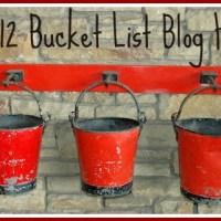 2012 Bucket List Blog Hop!