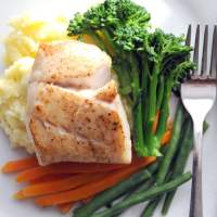 Fish is the Dish: Pan-Fried Coley (Wild Saithe) with Quick Cheesy Mash