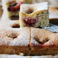 Recipe: Poppy Seed and Plum Cake