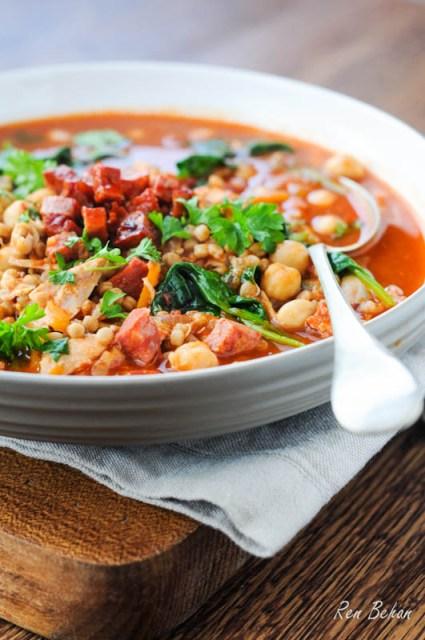 Chicken & Chorizo Soup