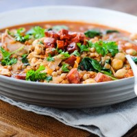 Recipe: Chorizo, Chicken and Chickpea Soup