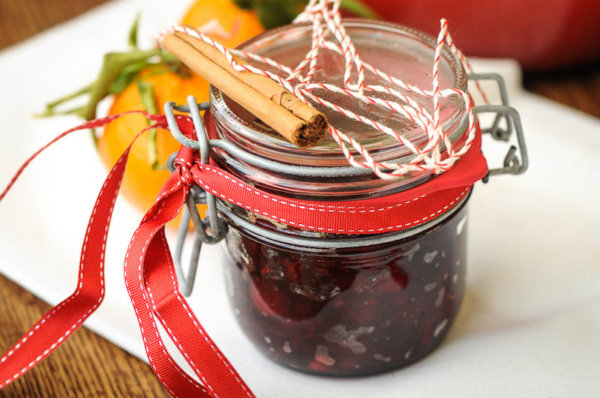 Spiced Cranberry and Plum Chutney