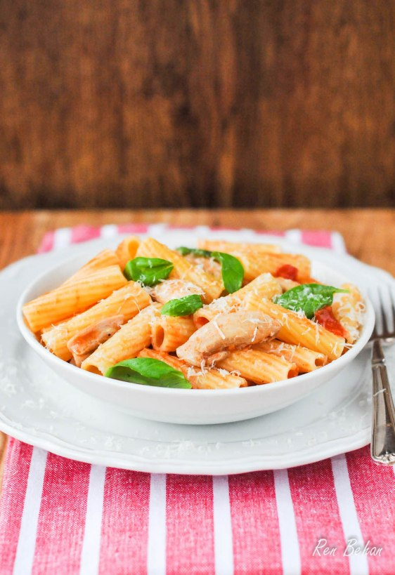 Chicken and Parmesan Pasta