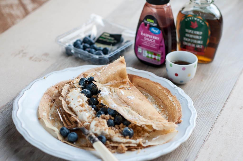 Blueberry Vanilla Cheesecake Pancakes-6