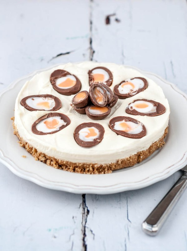 Creme Egg Cheesecake Ren Behan