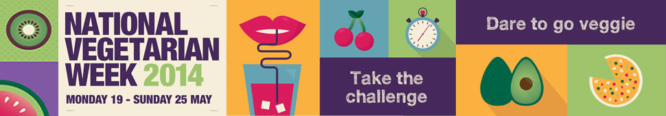 National Vegetarian Week Banner