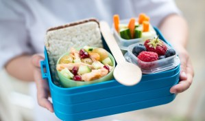 Pink Lining Lunch Box
