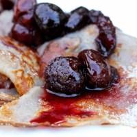 Gluten Free Cherry Pancake