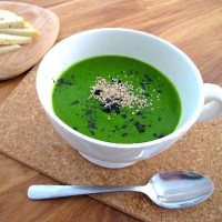 Raw Green Soup