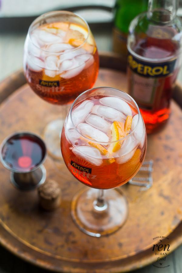 How to make an Aperol Spritz Cocktail #ItStartsNow