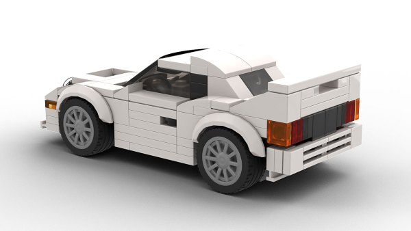 LEGO Ford RS200 Model Rear View