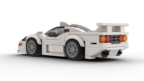 LEGO McLaren F1 GTR Longtail Rear View