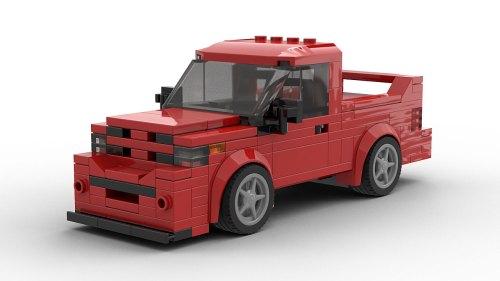 LEGO Dodge Ram SRT-10 Model