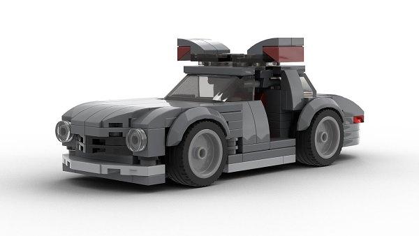 LEGO Mercedes SL300 Gullwing Model