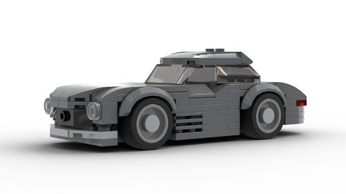 Mercedes 300SL Gullwing LEGO Model