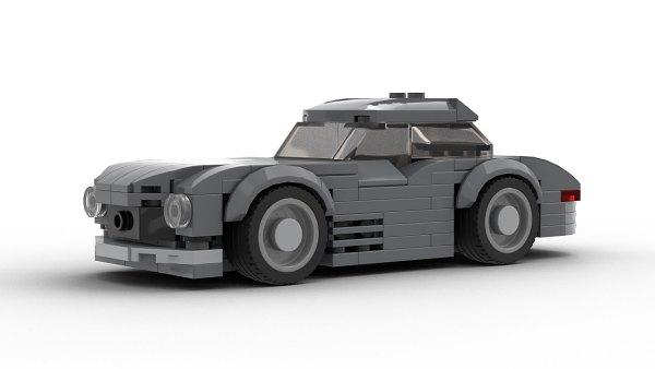 Mercedes 300SL Gullwing LEGO Model