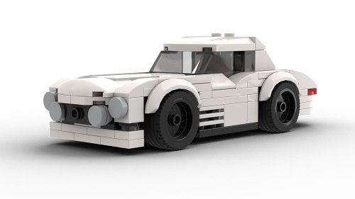 LEGO Mercedes 300SL Race Car model
