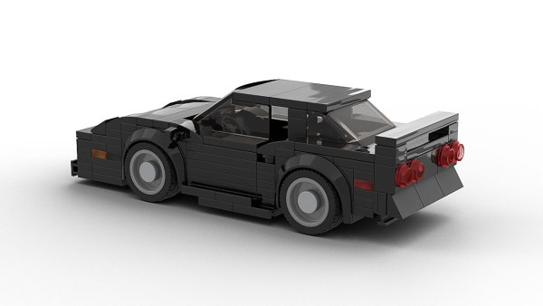 LEGO Chevrolet Corvette C4 Model Rear View