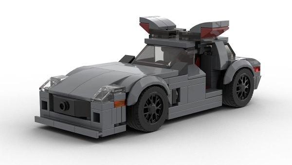 LEGO Mercedes-Benz SLS AMG Open Doors model