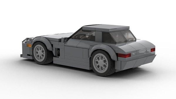 LEGO Mercedes-Benz SLS AMG model rear view