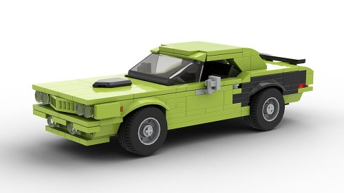 LEGO Plymouth Hemi Cuda 1971 model