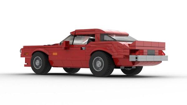 LEGO Pontiac Firebird Trans Am 73 Model Rear View 2