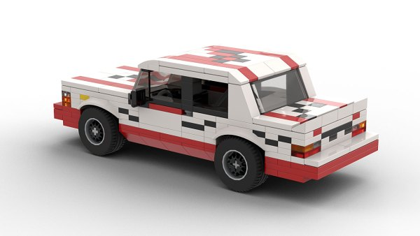 LEGO Volvo 240 Turbo Macau GP Guia Race Winner model
