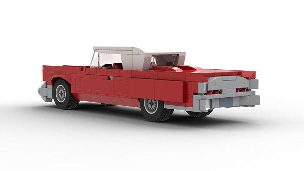 LEGO Continental Mark IV model rear view