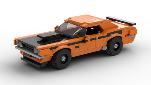 LEGO Dodge Challenger TA 1970 model