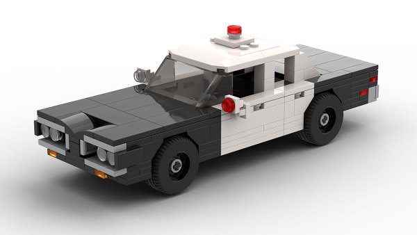 LEGO Dodge Coronet Police Car 70 model