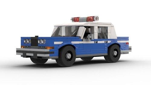 LEGO Dodge Diplomat NYPD Police Car model