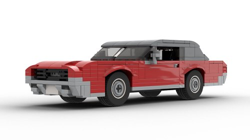 LEGO Ford Thunderbird 67 model
