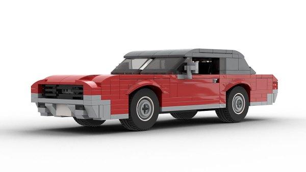 LEGO Ford Thunderbird 67 model