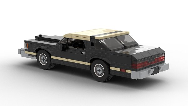 LEGO Ford Thunderbird 79 model rear view