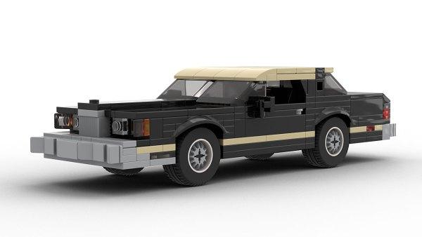 LEGO Ford Thunderbird 79 model