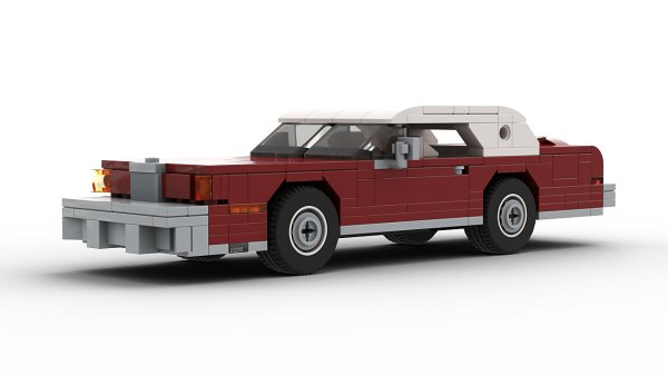 LEGO Lincoln Continental Mark IV model