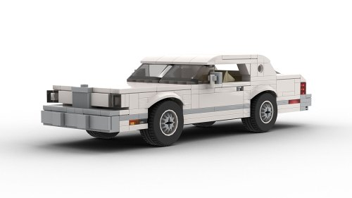 LEGO Lincoln Continental Mark V model