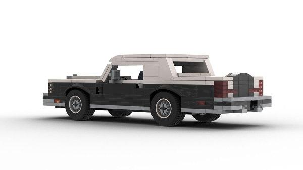 LEGO Lincoln Continental Mark VI model rear view