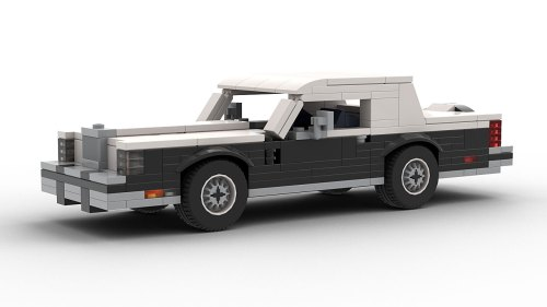 LEGO Lincoln Continental Mark VI model