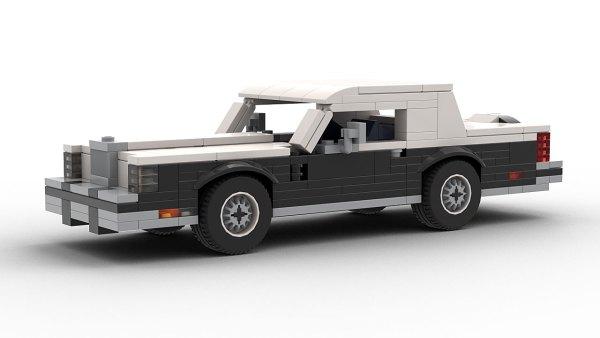 LEGO Lincoln Continental Mark VI model