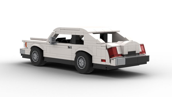 LEGO Lincoln Continental Mark VII model rear view