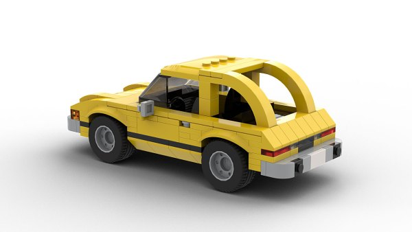 LEGO AMC Pacer model rear view