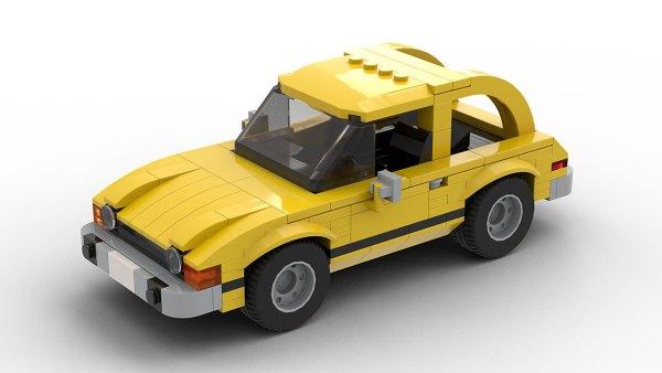 LEGO AMC Pacer model
